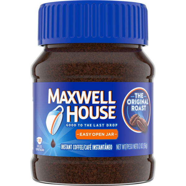 Maxwell House Instant Coffee Original Roast 2 Oz From