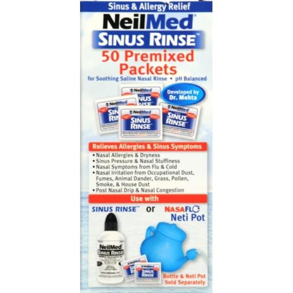Neil Med Sinus Rinse, Premixed Packets (50 each) from CVS