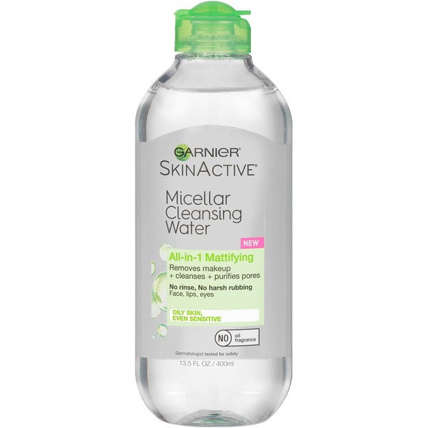 Skin Active Micellar All-in-1 Mattifying Cleansing Water