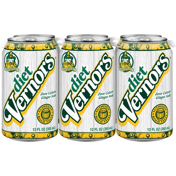 does diet vernors ginger ale have caffeine