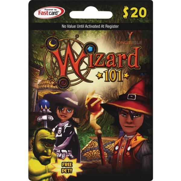 Wizard 101 20 Gift Card Each From Cvs Pharmacy Instacart