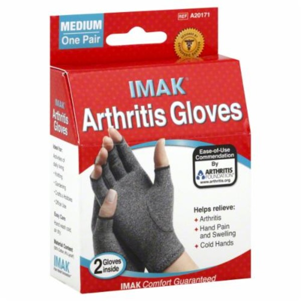 Imak Gloves Arthritis Unisex Size M 1 Pr From Cvs Pharmacy
