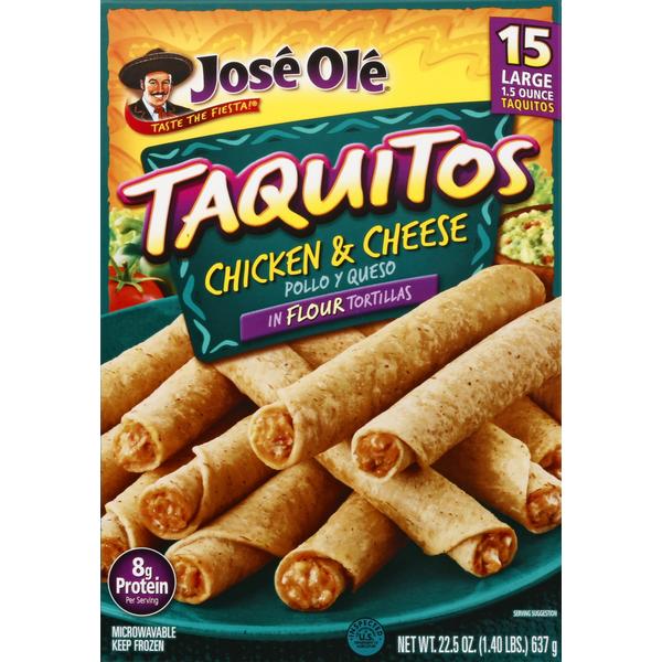 Jose Ole Chicken Cheese Flour Tortillas Taquitos 1 5 Oz From Safeway Instacart