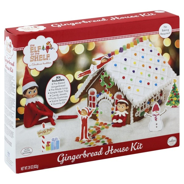Albertsons Christmas Hours.Cookies United Gingerbread House Kit The Elf On The Shelf