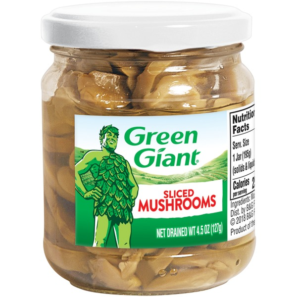 Green Giant Sliced Green Giant Sliced Mushrooms (4 5 oz