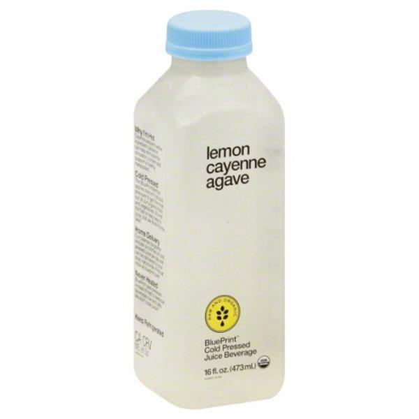 Blueprint juice cold pressed juice beverage lemon cayenne agave blueprint juice cold pressed juice beverage lemon cayenne agave malvernweather Image collections