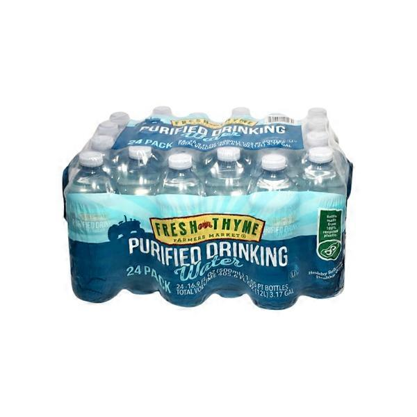 89399df8d5ce Fresh Thyme Purified Drinking Water from Fresh Thyme Farmers Market ...