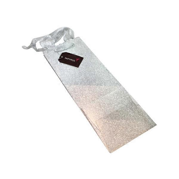 papyrus christmas bottle gift bag