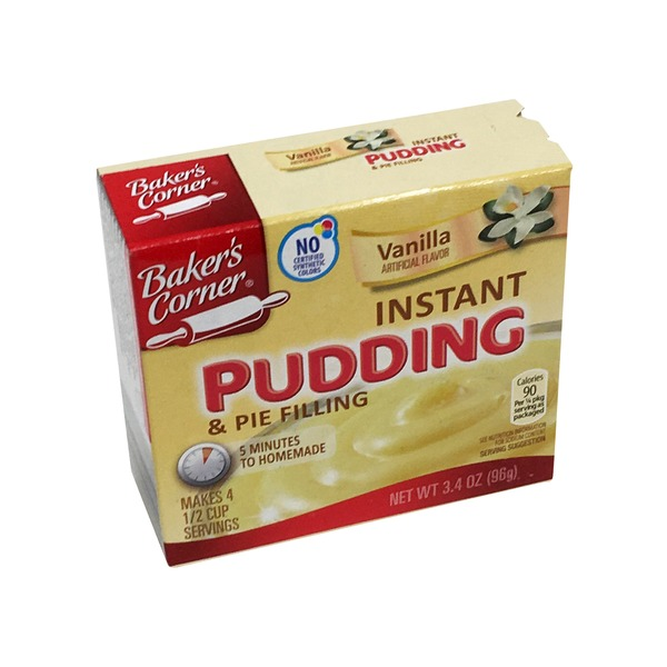 Homemade Instant Vanilla Pudding Mix