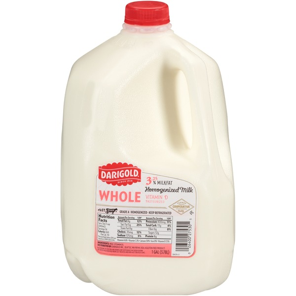 Darigold Whole Homogenized Milk (1 gal) from Sam's Club