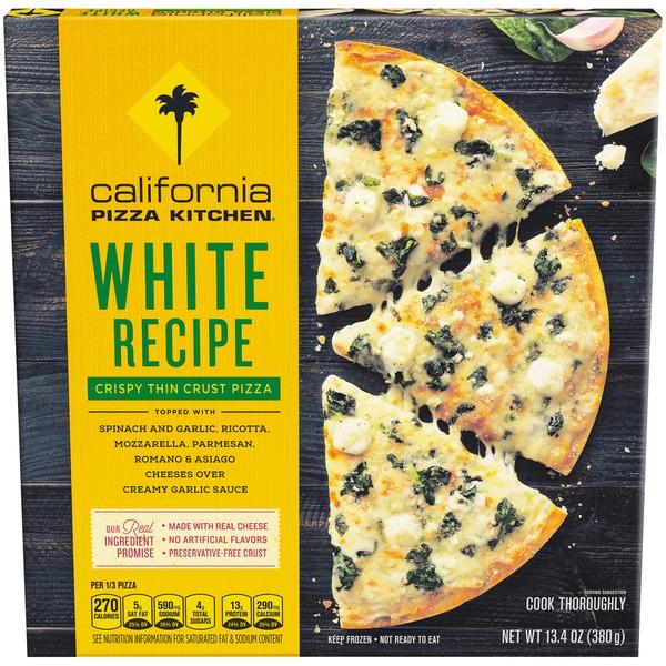 California Pizza Kitchen Crispy Thin Crust White Recipe Pizza from ...