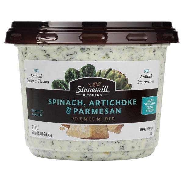 Stonemill All Natural Spinach Artichoke Parmesan Dip (1.875