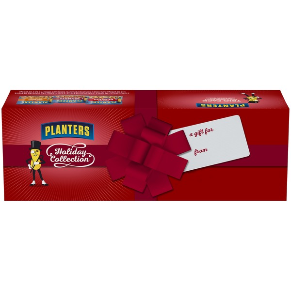 Planters Seasonals Holiday Collection Sweet 'N Crunchy/tail ... on planters honey roasted peanuts, planters peanuts variety, planters peanuts individually wrapped, blue diamond nuts pack, planters nutrition pack, planters heat peanuts, peanut planter pack,