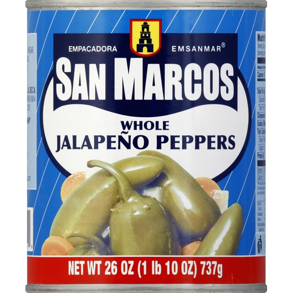 San Marcos Jalapeno Peppers, Whole