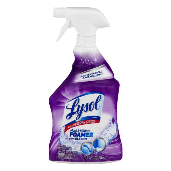 Lysol Mold & Mildew Foamer with Bleach (28 fl oz) from Publix