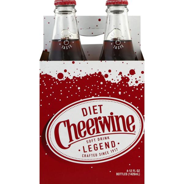 does diet cheerwine have aspartame