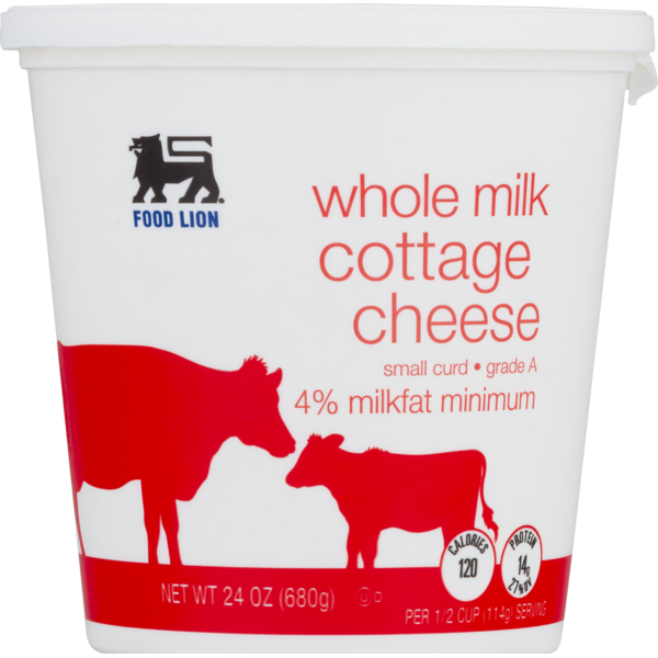 food lion cheese cottage 24 oz  instacart
