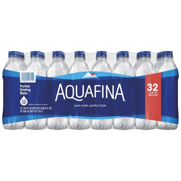 Aquafina Water (16 9 fl oz) from Shop and Save - Instacart