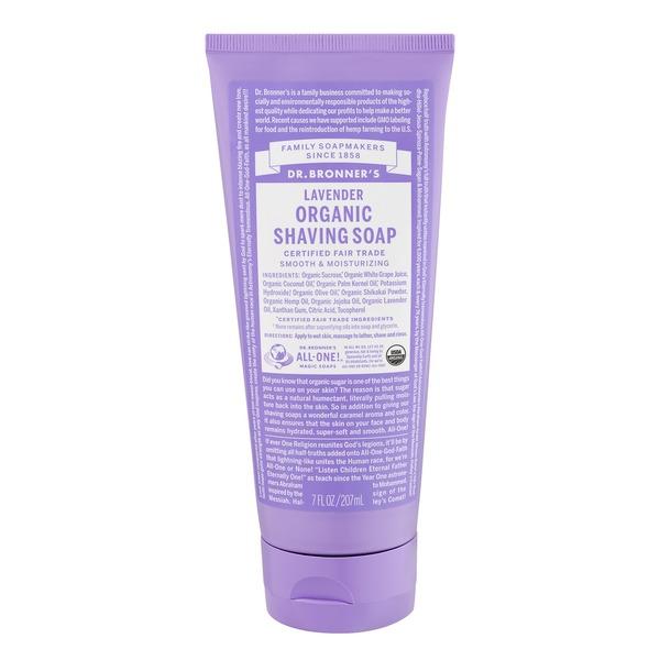 online retailer 44486 1c2c8 Dr. Bronner's Organic Shaving Soap Lavender (7.0 fl oz) from ...