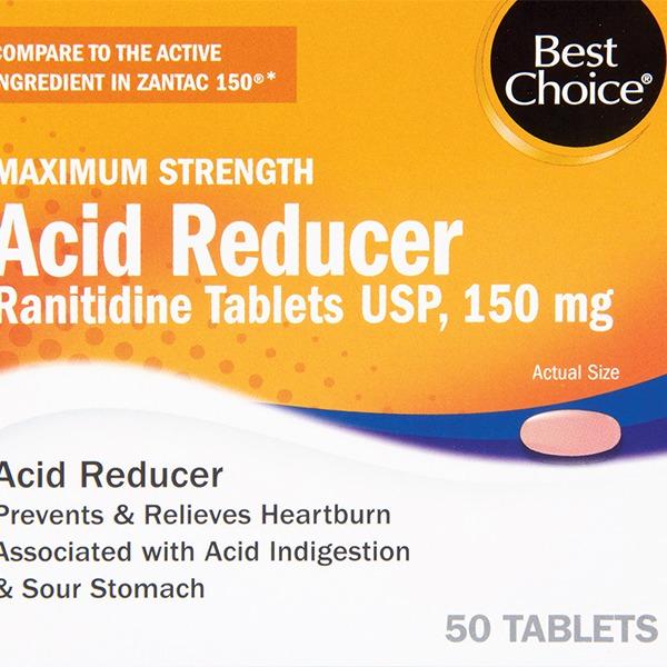 Best Choice Maximum Strength Acid Reducer Tabs (50 ct