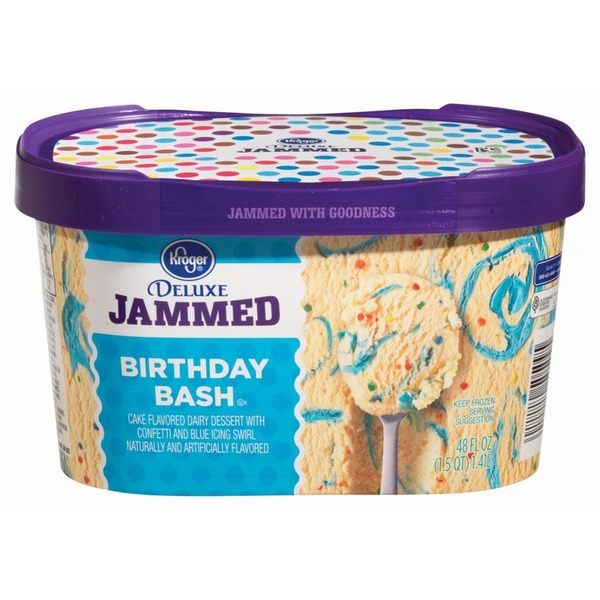 Kroger Deluxe Jammed Birthday Bash Dairy Dessert 48 Oz From Ralphs