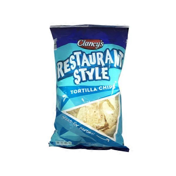 Clancy S Tortilla Chips Restaurant Style 13 Oz From Aldi