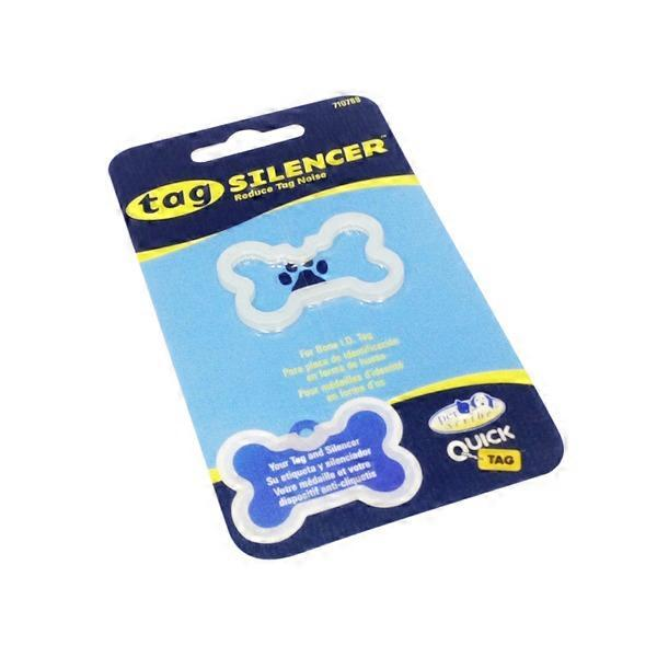 Quick Tag Bone Shaped Silencer Pet Tag 1 From Petconow Instacart