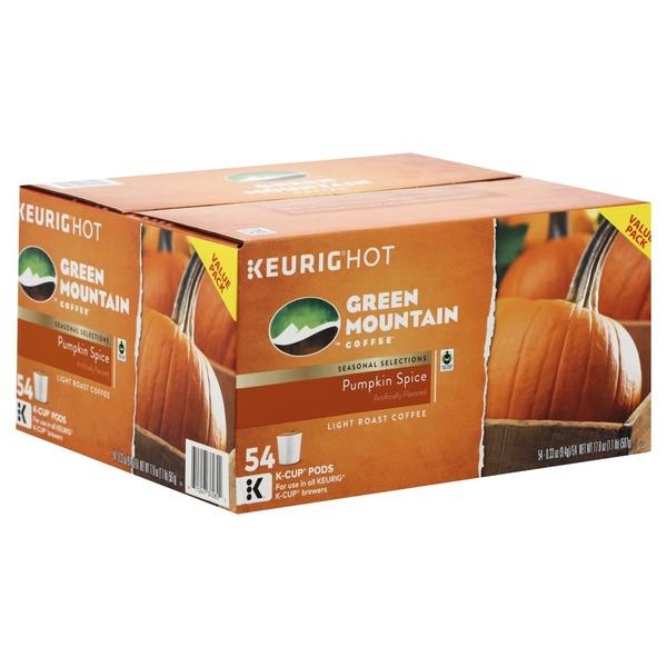 green mountain coffee - pumpkin spice k-cup pods