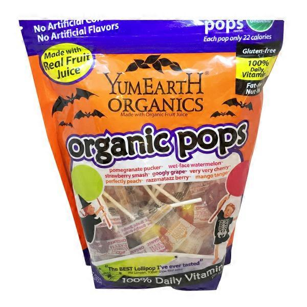 Yummy Earth Organic Halloween Lollipops from Natural Grocers - Instacart