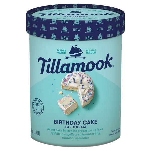 Kroger Tillamook Birthday Cake Ice Cream