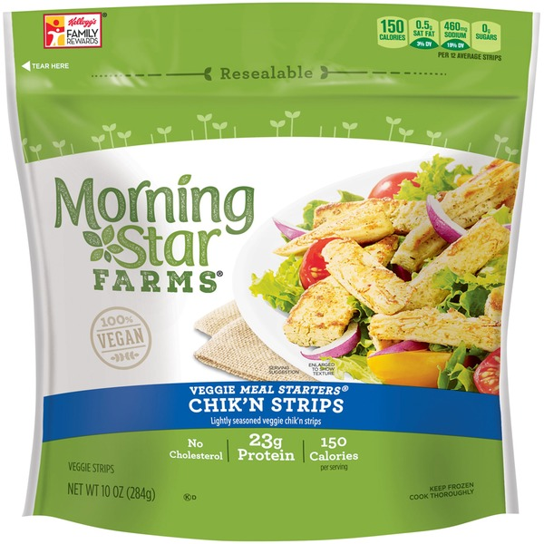 Morning Star Farms Meal Solutions Chicken 10oz From Giant Food