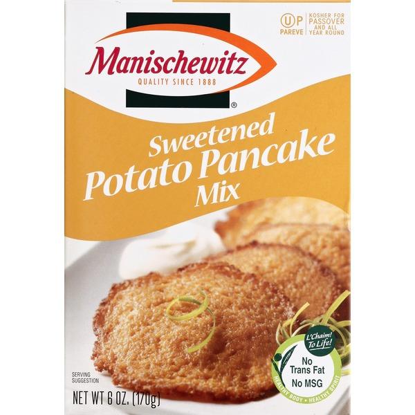 Manischewitz Potato Pancake Mix, Sweetened (6 oz) - Instacart