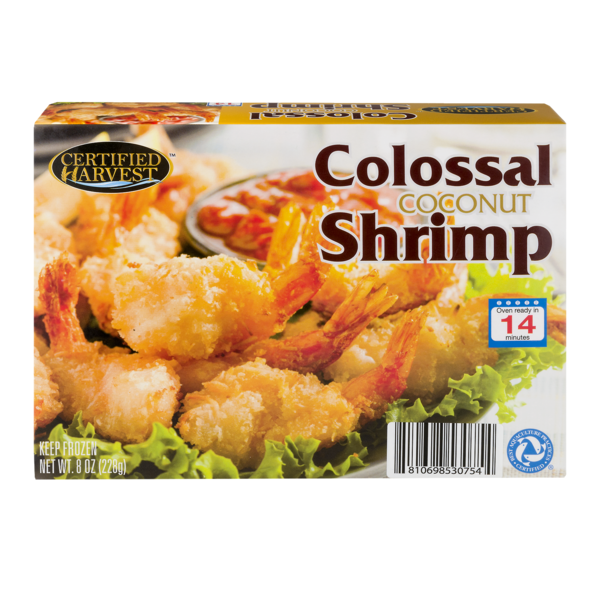Certified Harvest Colossal Shrimp Coconut (8 oz) from Giant