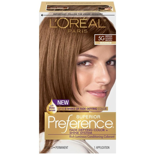 Superior Preference Warmer 5g Medium Golden Brown Hair Color From