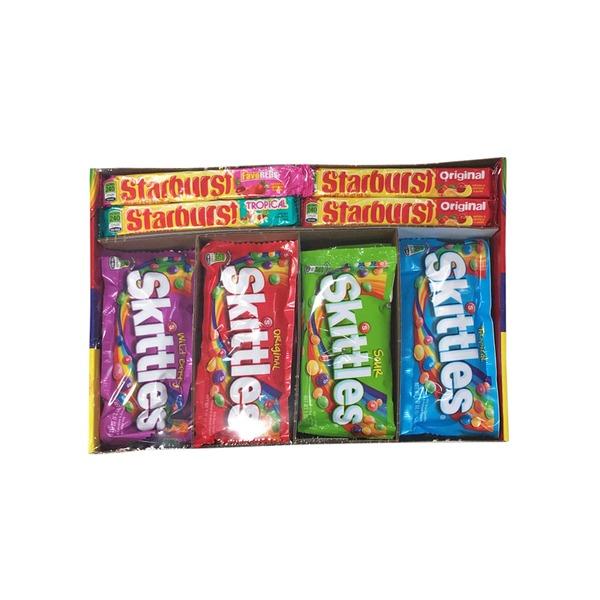 Wm  Wrigley Candy, Skittles/Starburst, Full Size Packs