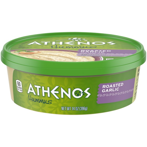 Athenos Roasted Garlic Hummus (14 oz) from Stater Bros