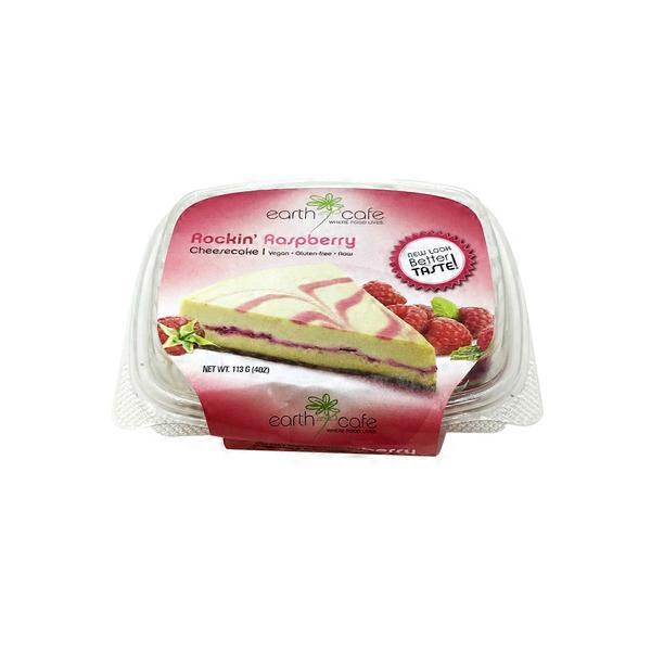Earth Cafe Vegan Gluten-Free Rockin' Raspberry Cheesecake