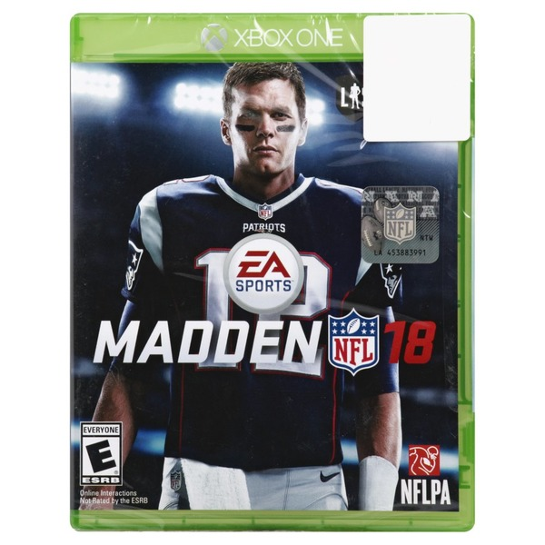 Madden Game, Madden NFL 18, Xbox One (1 each) from Meijer - Instacart