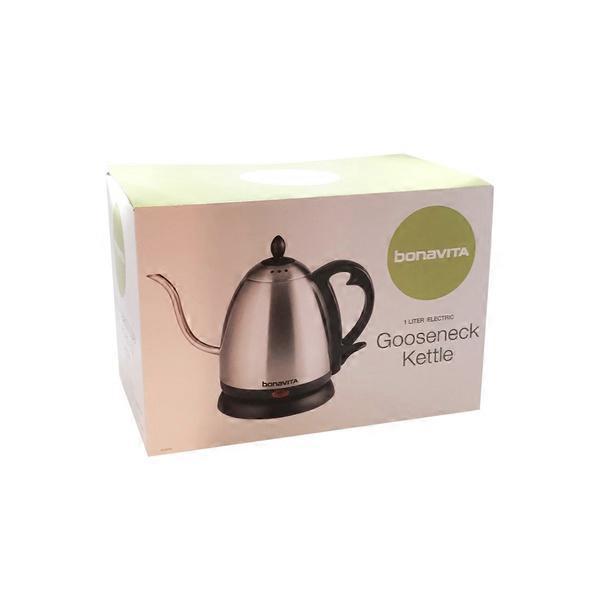 bonavita 1 liter electric gooseneck kettle