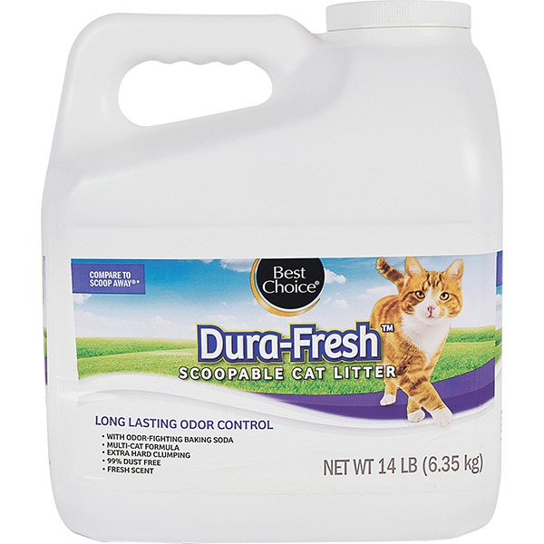 Best Choice Long Lasting Odor Control Scoopable Cat Litter