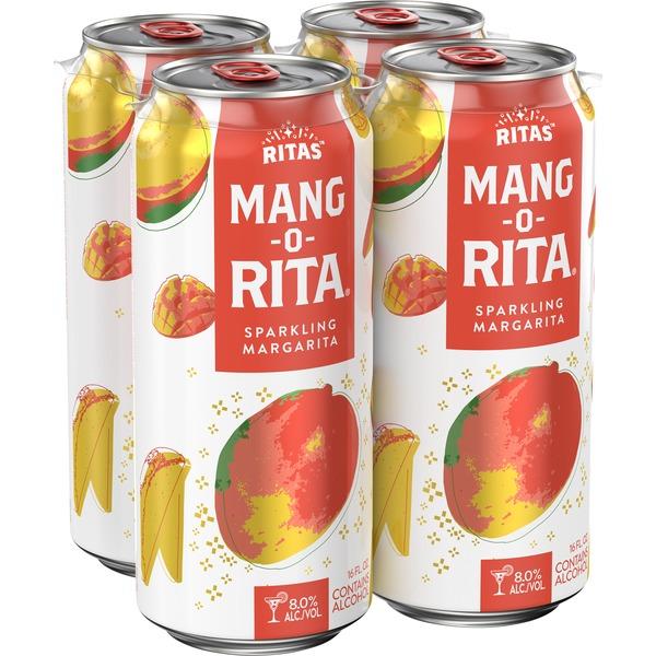Ritas Water-Melon-Rita Sparkling Margarita, 25 fl. oz. Can