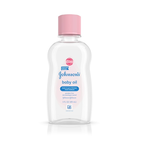 Johnson's Baby Oil (3 fl oz) from QFC - Instacart