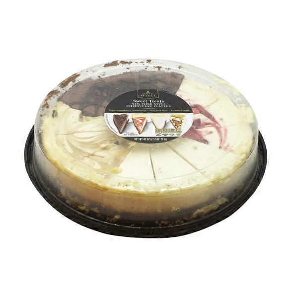 Signature Kitchen 12 Slice Cheesecake Platter 40 Oz From