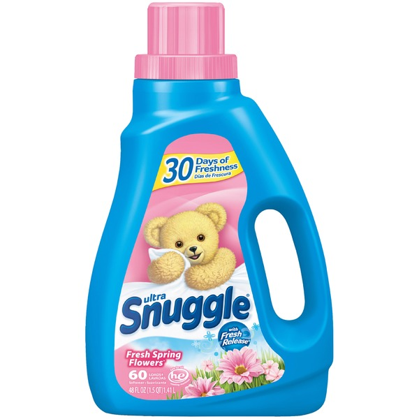 Snuggle Ultra Fresh Spring Flowers Liquid Fabric Softener From
