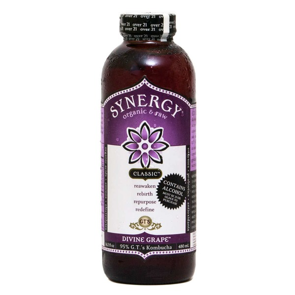 GT's Organic & Raw Classic Synergy Divine Grape