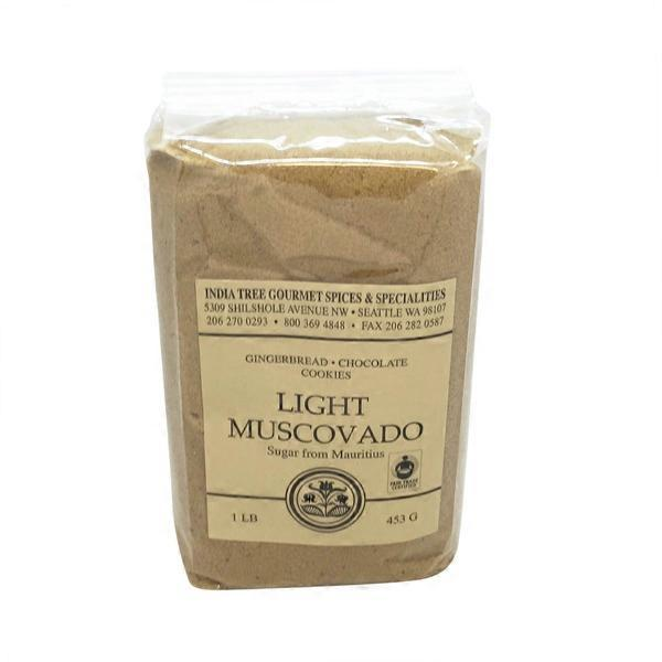India Tree Light Muscovado Sugar