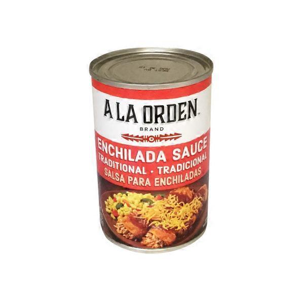 A La Orden Enchilada Sauce