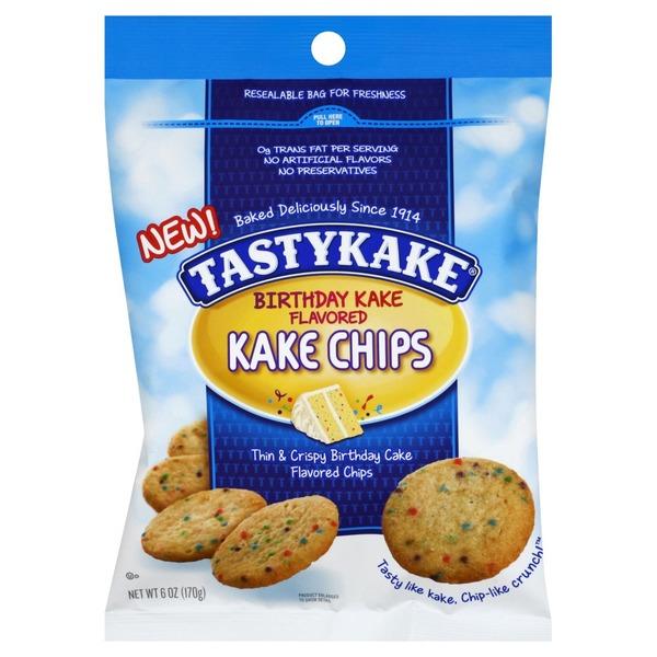 Shop N Save Tastykake Birthday Kake Flavored Chips Snack Cakes