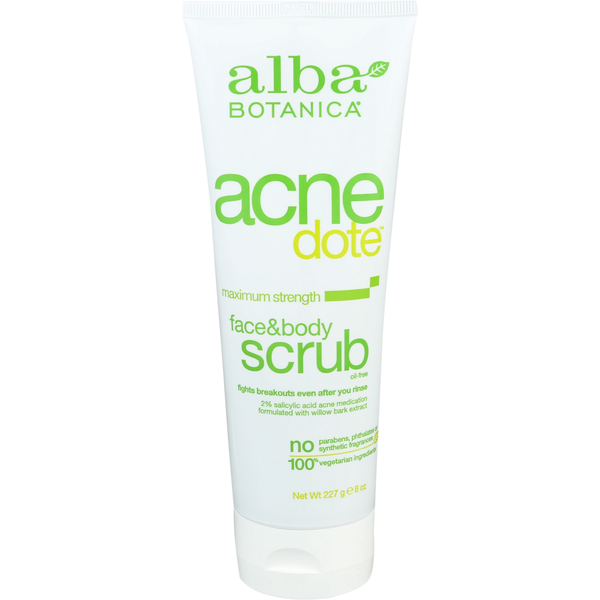 Not give earth science apricot facial scrub creme all clear