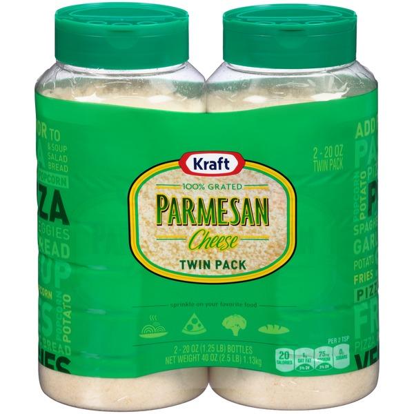 kraft grated parmesan cheese 40 oz  instacart